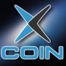 XCOIN(クロスコイン)メインロゴ