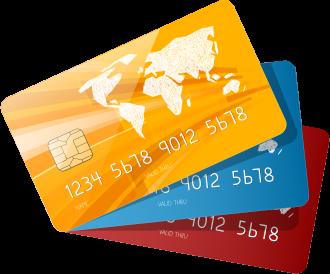 決済できるクレジットカードサンプル